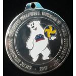 Медаль Ямал Детский волейбол