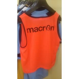 Манишка тренировочная Macron (Orange)