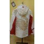 Костюм ветрозащитный женский FORWARD (белый/красный)