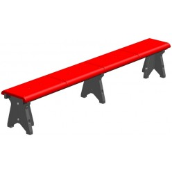 Скамейка гимнастическая (пластик)