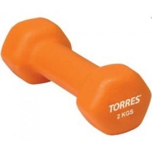 Гантель TORRES 2 кг